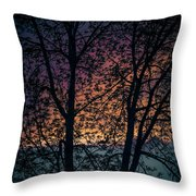Through The Tree Throw Pillow
