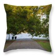 Through The Tree's Throw Pillow