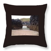 Through Way Throw Pillow