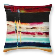 Thru The Dark Throw Pillow