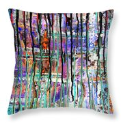 Thru The Storm 1 Digital Series Throw Pillow