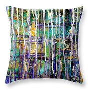 Thru The Storm 2 Digital Series Throw Pillow