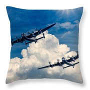 Thumper And Vera Throw Pillow