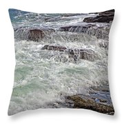 Thunder And Lace Throw Pillow