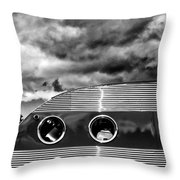Thunder And Lightning Palm Springs Throw Pillow
