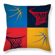 Thunder Ball And Hoop Throw Pillow
