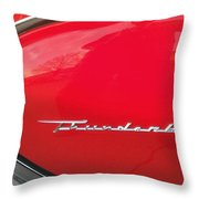 Thunderbird Roads Throw Pillow