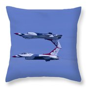 Thunderbird Solos 5 Inverted Over 6 Throw Pillow