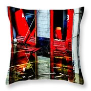 Thunderbirds Are No-go Throw Pillow