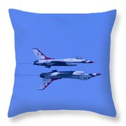 Thunderbirds Solos 6 Over 5 Inverted Throw Pillow