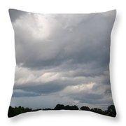 Thunderous Skies Throw Pillow