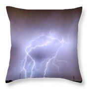 Thunderstorm Triple Threat Throw Pillow