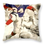 Thurman Thomas Throw Pillow
