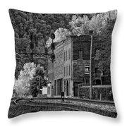 Thurmond Wv Monochrome Throw Pillow
