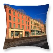 Thurmond Wv Remnants Throw Pillow