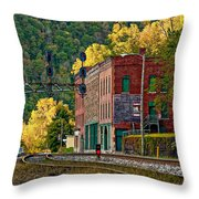 Thurmond Wv Throw Pillow