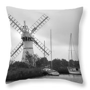 Thurne Windmill II Throw Pillow