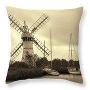 Thurne Windmill IIi Throw Pillow