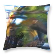 Thus Was Told The Story Of The Serpent's Bite Throw Pillow