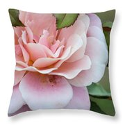 Tiara Pink Throw Pillow
