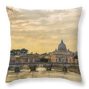 Tiber River Throw Pillow