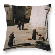 Tibet 2x2x2 By Jrr Throw Pillow