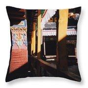 Tibet Potala Palace 7 Throw Pillow