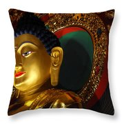 Tibetan Buddha 8 Throw Pillow