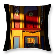 Ticket To The Big Top Throw Pillow