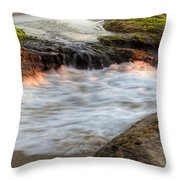 Tidal Pull Throw Pillow