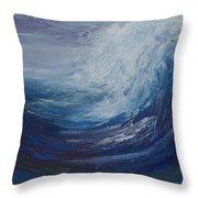 Tidal Wave Throw Pillow