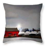 Tide Mill Throw Pillow