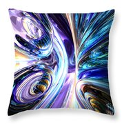 Tide Pool Abstract Throw Pillow
