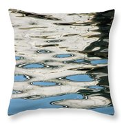 Tide Pools On The Water Throw Pillow