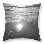 Tide Waits For No One Throw Pillow
