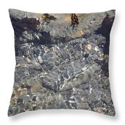 Tidepool Ripples Throw Pillow