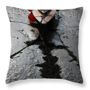 Tide's Out 1 Throw Pillow