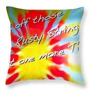 Tie Dye Tease Throw Pillow