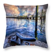 Tied To My Heart Throw Pillow