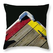 Tied-up Throw Pillow by Luke Moore