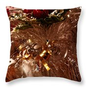 Tied With A Ribbon Throw Pillow