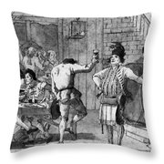 Tiepolo: Malvasia, C1791 Throw Pillow