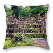 Tiered Fountain Throw Pillow