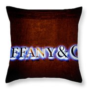 Tiffany And Co Throw Pillow