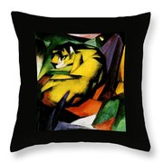 Tiger 1912 Throw Pillow