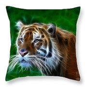 Tiger Dream Throw Pillow