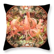 Tiger Lily Sphere Throw Pillow