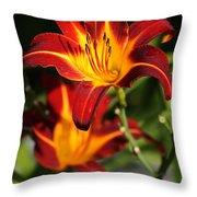 Tiger Lily0243 Throw Pillow