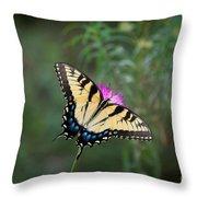 Tiger Swallowtail I Believe Throw Pillow