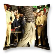 Tiger Woods Throw Pillow